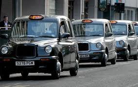 taxi a londra