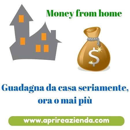 guadagnare da casa