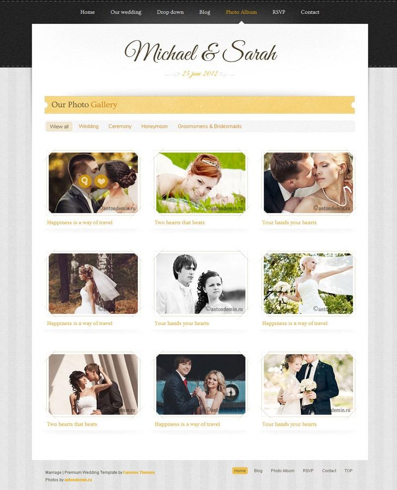 miglior tema wordpress per wedding planner