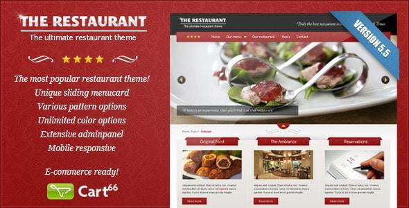 tema wordpress per ristoranti