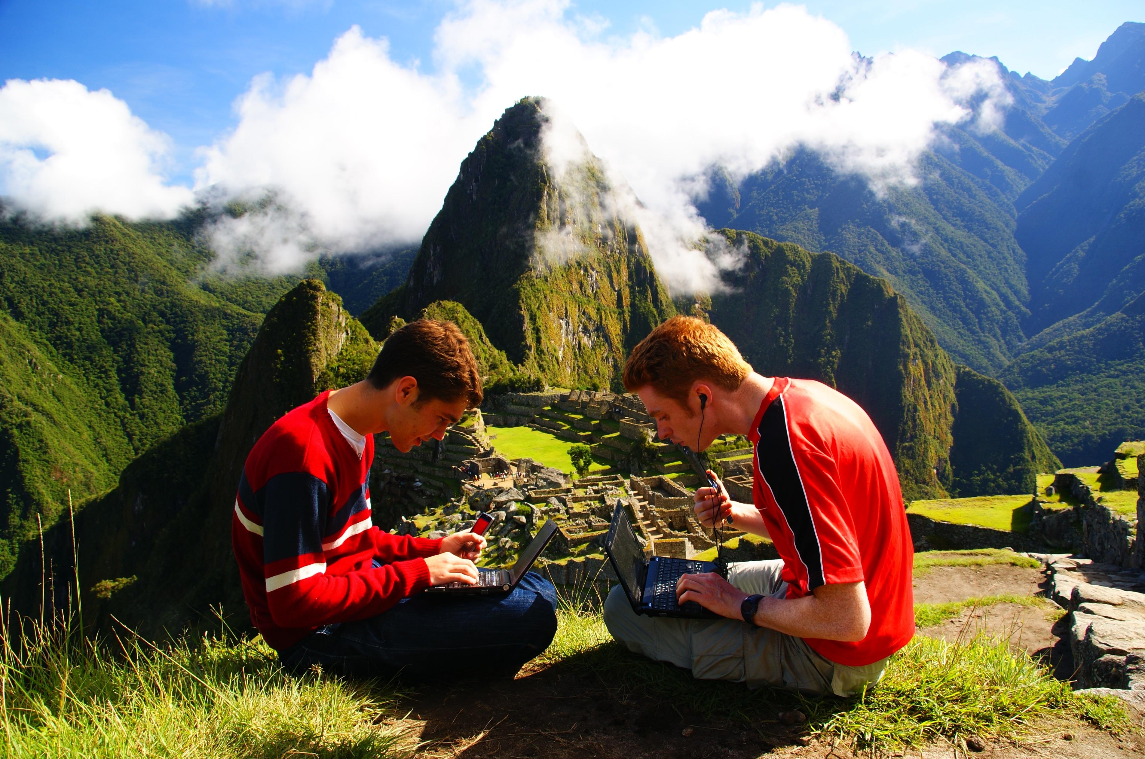 aprire un blog di viaggi.
